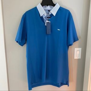Harmont & Blaine Polo Shirt with Patterned Logo
